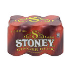 Stoney Ginger Beer Can 330ml x 6