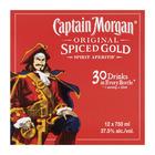 Captain Morgan Spiced Gold Rum 750 ml  x 12