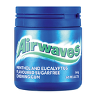 Airwaves Menthol & Eucalyptus Sugar Free Chewing Gum 60s
