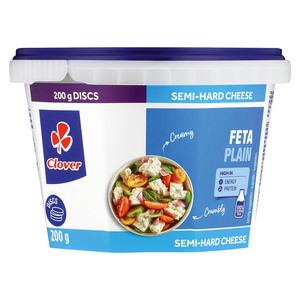 Clover Traditional Plain Feta Cheese 200g
