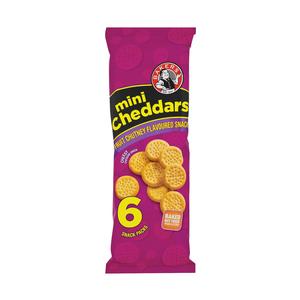 Bakers Mini Cheddars Fruit Chutney 198g
