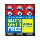 Durex Real Feel Condoms 12's - Buy 2 Get 1 Free