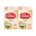 Nestle Cerelac Infant Cereal Banana 250g x 6