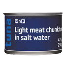 PnP Tuna Chunks In Brine 425g