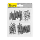 PnP 60 Piece Screw And Anchor Assorted