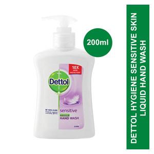 Dettol Liquid Hand Wash Pump Sensitive Skin 200ml