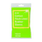 PnP Rubber Gloves Med 1ea