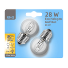 PNP 28W ES ECO HAL GOLFBALL 2P BL