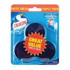 Toilet Duck Action Cleaning Blue 3ea