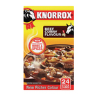 Knorrox Beef Curry Stock Cubes 24s
