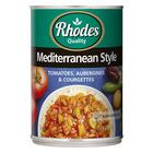 Rhodes Meditteranean Style Tomato 410g