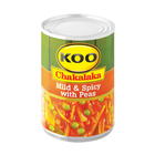 Koo Chakalaka Mild&spicy With Peas 410gr