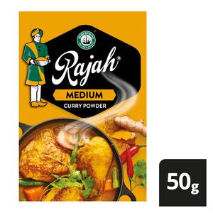 Robertsons Rajah Curry Powder Medium 50g