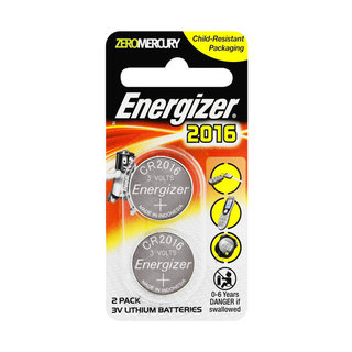 Energizer Lithium Coin Batteries 2016bs