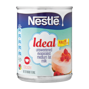 Nestle Ideal Low Fat Evaporated Milk 380g