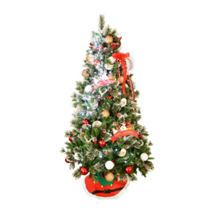 Christmas Tree Decortaed 1.8m Traditional