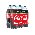 Coca-Cola No Sugar & No Caffeine 2.25l x 6
