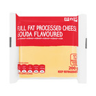 PnP Full Fat Processed Gouda Cheese Slices 200g