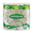 Twinsaver 2 Ply White Luxury Toilet Paper 4ea