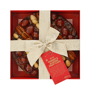 PnP Christmas Luxury Cherry & Almond Cake 800g