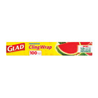 Glad Cling Wrap Perforted 100mx330mm 100s