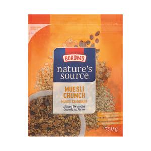Nature's Source Muesli Crunch 750g