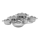 PnP 12pc Stainless Steel Cookware Set