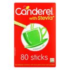 Canderel Sweetener Stick Sachet Green 80ea