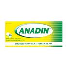 Anadin Regular Pain Tablets 20ea