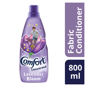 COMFORT Lavender Bloom Concentrated Fabric Conditioner 800ml