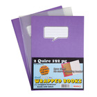Coolbooks A4 Quire Hard Cover Colour 192pg
