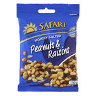 Safari Peanuts & Raisins 150g x 20