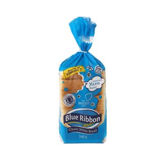 Blue Ribbon Classic White Sliced Bread 7 00g