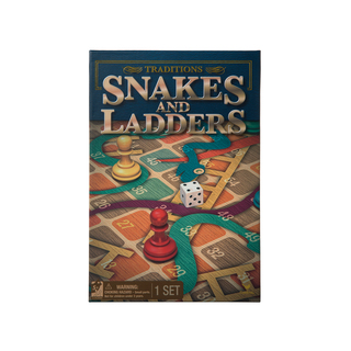 Prima Snakes & Ladders Traditional Game