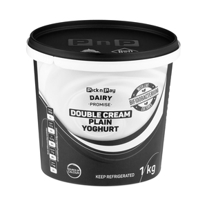 PnP Double Cream Plain Yoghurt 1kg