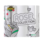Dinu White Rose Toilet Rolls 2 Ply 9s