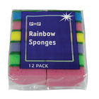 PnP Rainbow Sponges 12ea