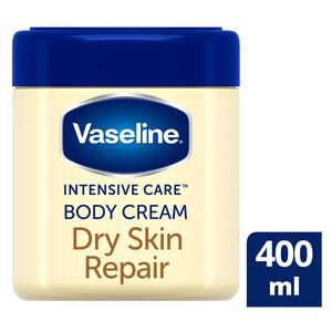 Vaseline Dry Skin Repair Body Cream 400ml