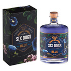 SIX DOGS BLUE GIN 750ML
