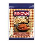 Renown Frozen Pork Bangers 750g