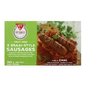 Fry's Braai-Style Vegetarian Sausages 380g