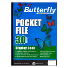 Butterfly Pocket File A4 30 Page