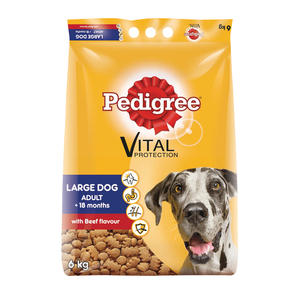 Pedigree Large Dog Food Beef 6kg