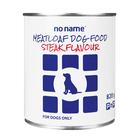 No Name Meatloaf Steak Dog Food 820g