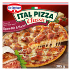 Dr Oetker Ital Pizza Spare Rib And Bacon Pizza 600g