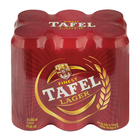 TAFEL LAGER BEER 500ML x 6