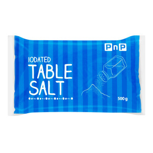 PnP Iodated Table Salt 500g