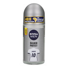 Nivea Silver Protect Roll On Deodorant 50ml x 6