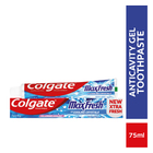 Colgate Max Fresh Cool Mint Gel Toothpaste 75ml