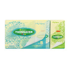 TWINSAVER FACIAL TISSUES 3PLY POCKET PAC x 8
